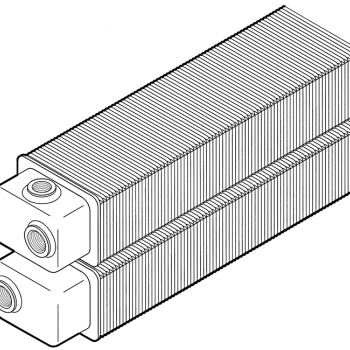 Spoj na istom kraju, No. 22, H 150 mm, D 100 mm