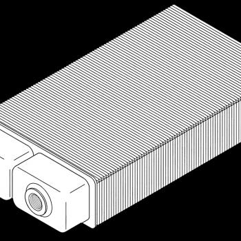 Spoj na istom kraju, No. 12, H 70 mm, D 200 mm