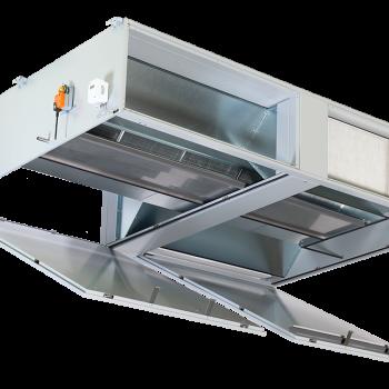 Airblock FG - Ravni uređaj za grijanje, hlađenje, ventilaciju i filtraciju 3