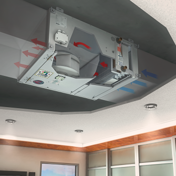 Airblock FG - Ravni uređaj za grijanje, hlađenje, ventilaciju i filtraciju 1
