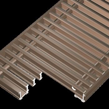 Optiline aluminij, bronciran