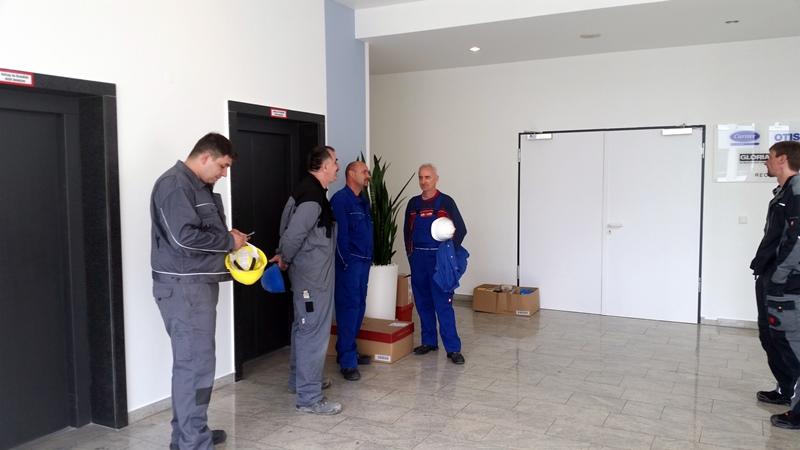 TDC Aufzugsmonteure bei OTIS ASU Schulung 3