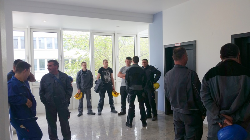 TDC Aufzugsmonteure bei OTIS ASU Schulung 4