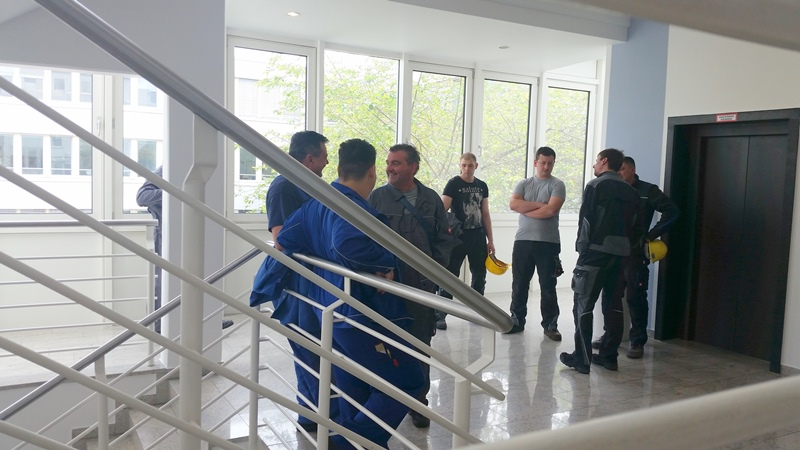 TDC Aufzugsmonteure bei OTIS ASU Schulung 5