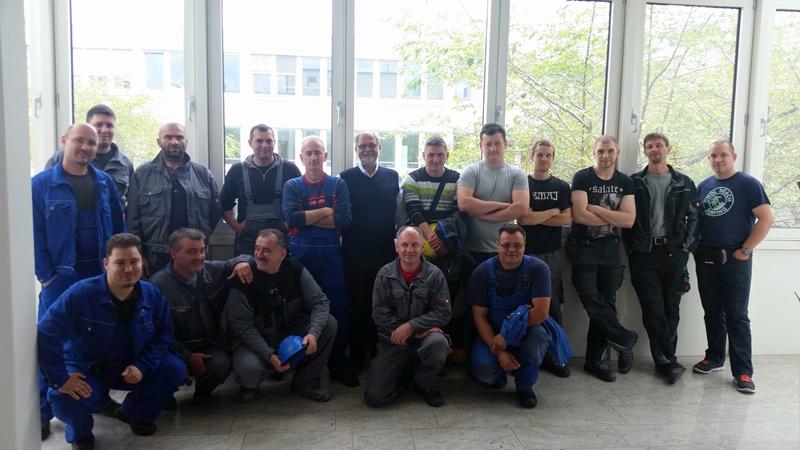TDC Aufzugsmonteure bei OTIS ASU Schulung 6