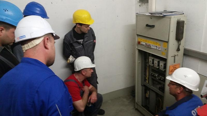TDC Aufzugsmonteure bei OTIS ASU Schulung 14