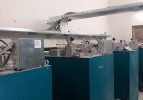 Maschinenraum des hydraulischen Lastenaufzüges  - München 2