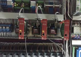 Maschinenraum des hydraulischen Lastenaufzüges  - Sindelfingen 3