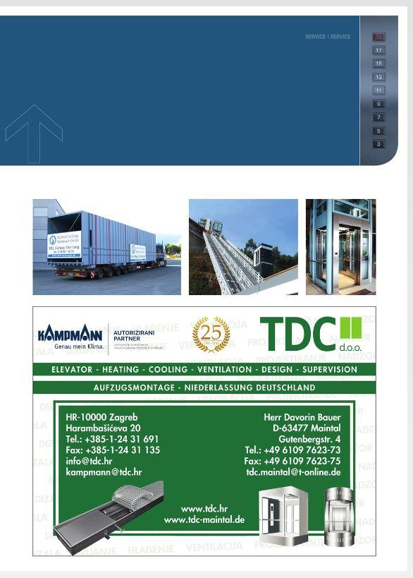 Schmidt Aufzüge Medebach - MultiMedia Broschüre - TDC ist dabei
