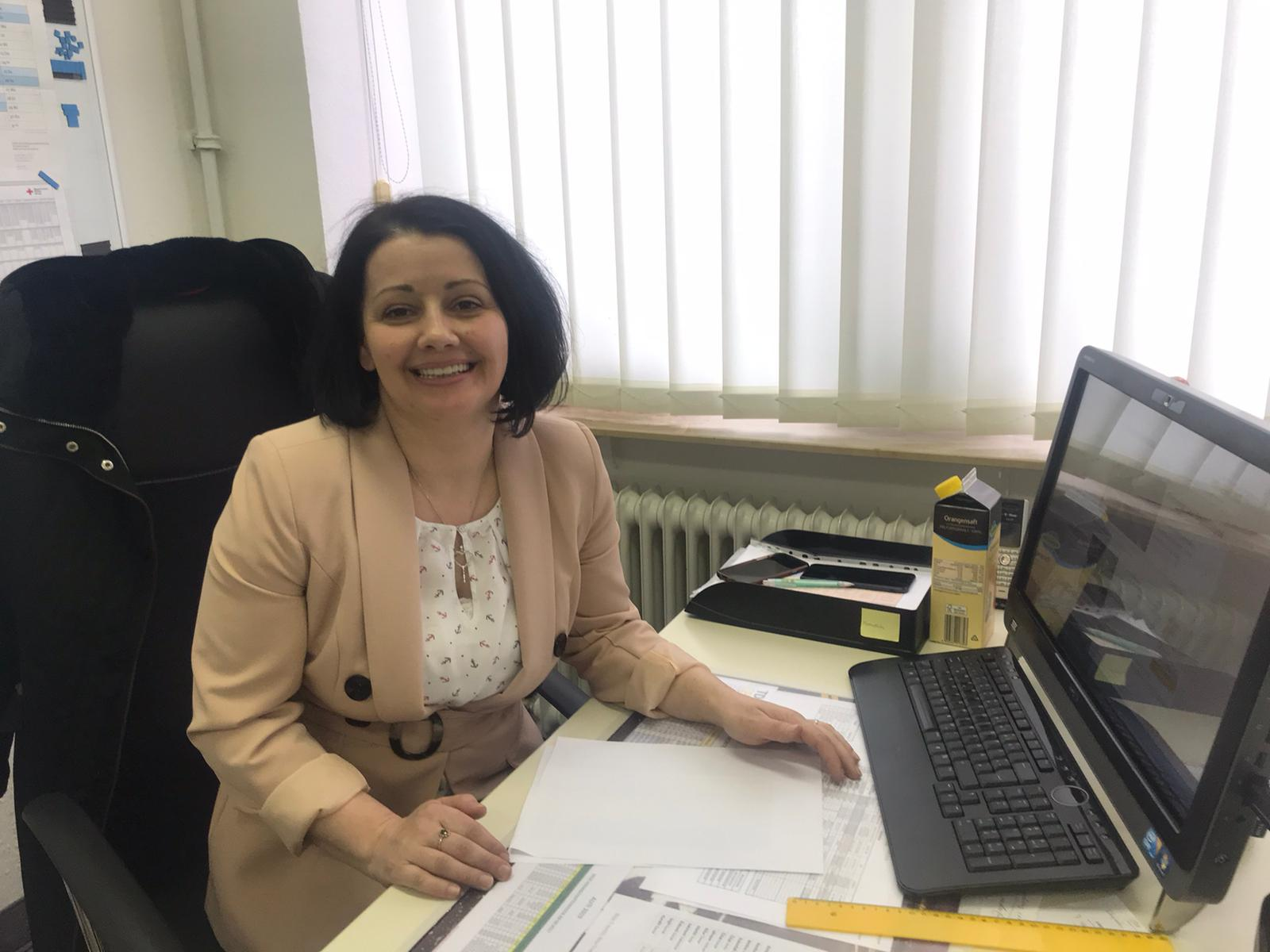Neue Mitarbeiterin im Büro TDC Maintal